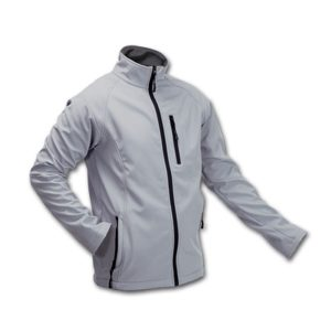 CHAQUETA CLUB SOFT SHELL GRIS L-CL15GR-L