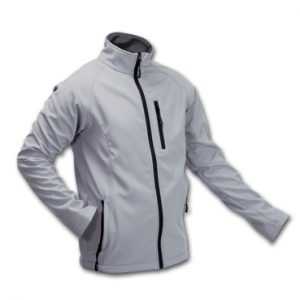 CHAQUETA CLUB SOFT SHELL GRIS XL-CL15GR-XL