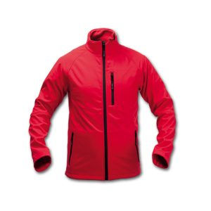 CHAQUETA CLUB SOFT SHELL ROJO M-CL15R-M