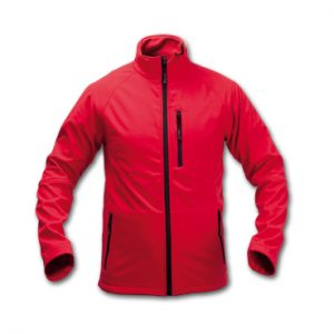 CHAQUETA CLUB SOFT SHELL ROJO XL-CL15R-XL