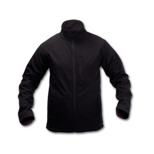 CHAQUETA CLUB SOFT SHELL NEGRO M-CL15S-M