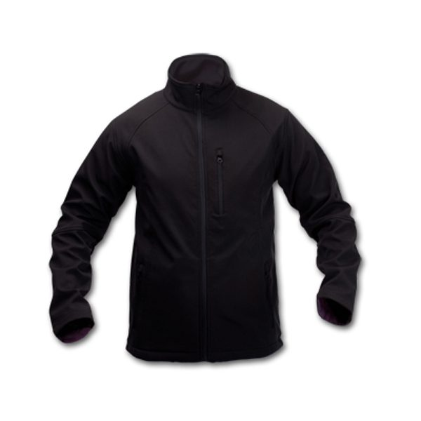 CHAQUETA CLUB SOFT SHELL NEGRO S-CL15S-S