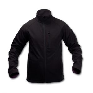 CHAQUETA CLUB SOFT SHELL NEGRO XL-CL15S-XL