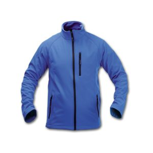 CHAQUETA CLUB SOFT SHELL AZUL S-CL15Z-S